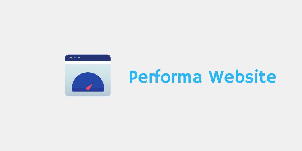 performa website